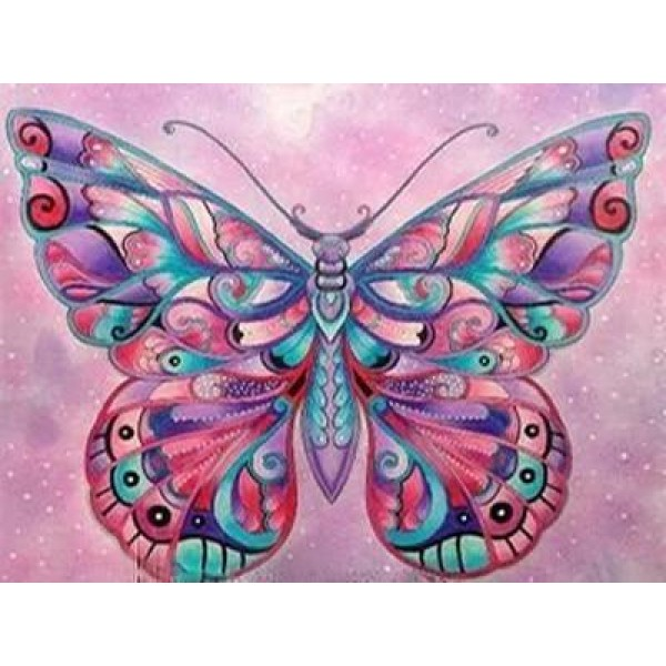 Colorful Butterfly Diamond Painting